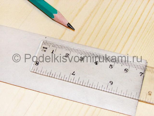 Изготовление ножа из бумаги - фото 21.
