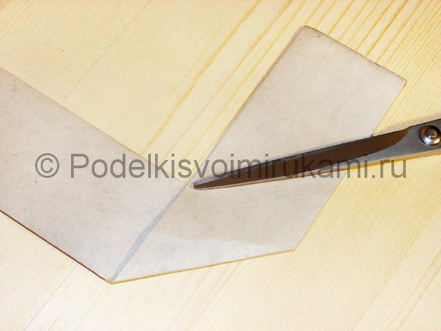 Изготовление ножа из бумаги - фото 22.