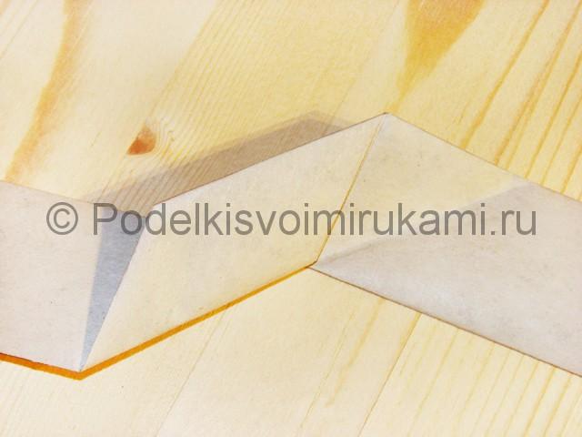 Изготовление ножа из бумаги - фото 23.