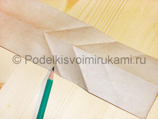Изготовление ножа из бумаги - фото 24.