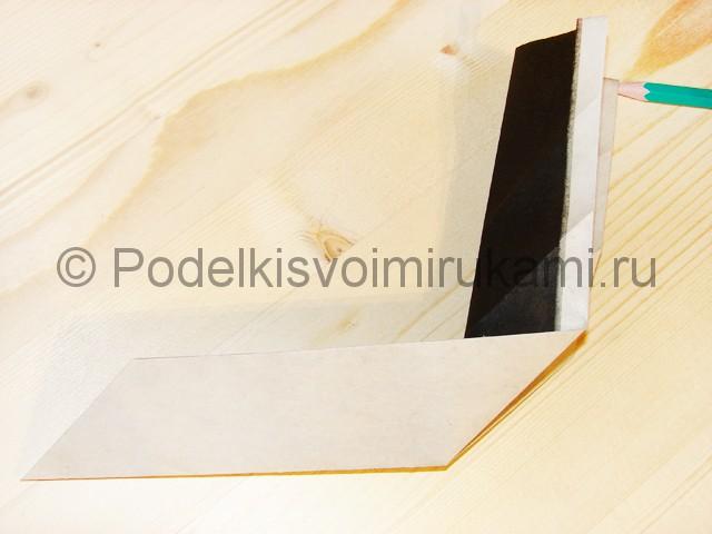 Изготовление ножа из бумаги - фото 25.