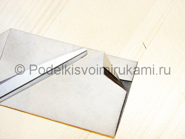 Изготовление ножа из бумаги - фото 27.