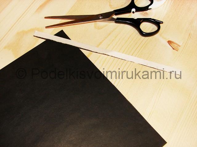 Изготовление ножа из бумаги - фото 3.