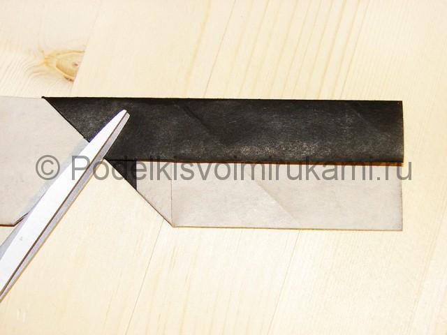 Изготовление ножа из бумаги - фото 30.