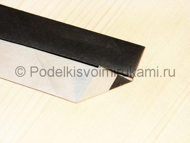 Изготовление ножа из бумаги - фото 31.
