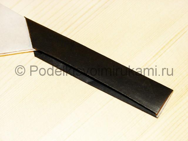 Изготовление ножа из бумаги - фото 34.
