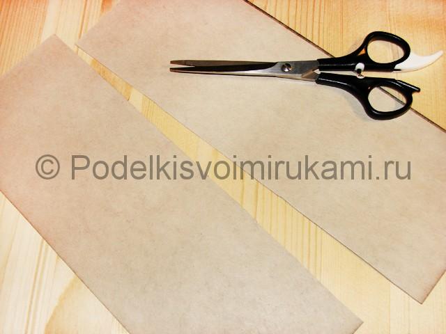 Изготовление ножа из бумаги - фото 4.