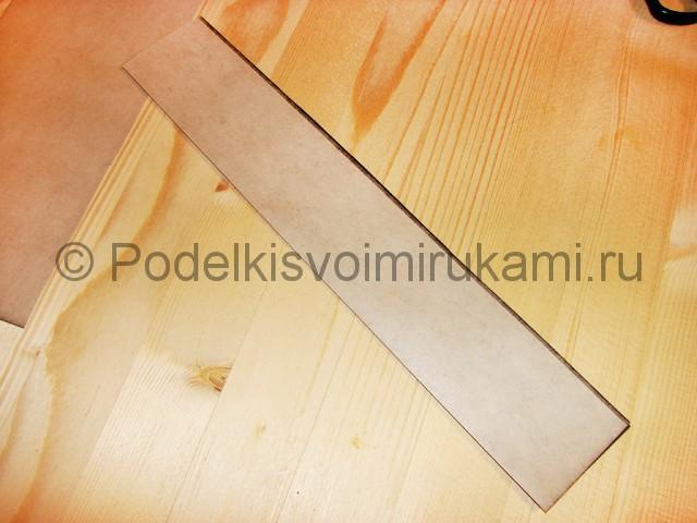 Изготовление ножа из бумаги - фото 5.