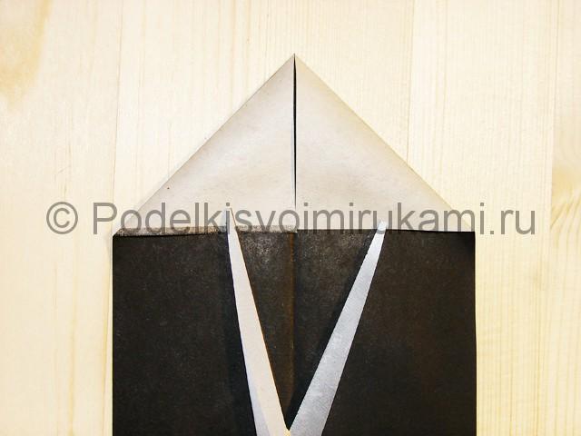 Изготовление ножа из бумаги - фото 8.