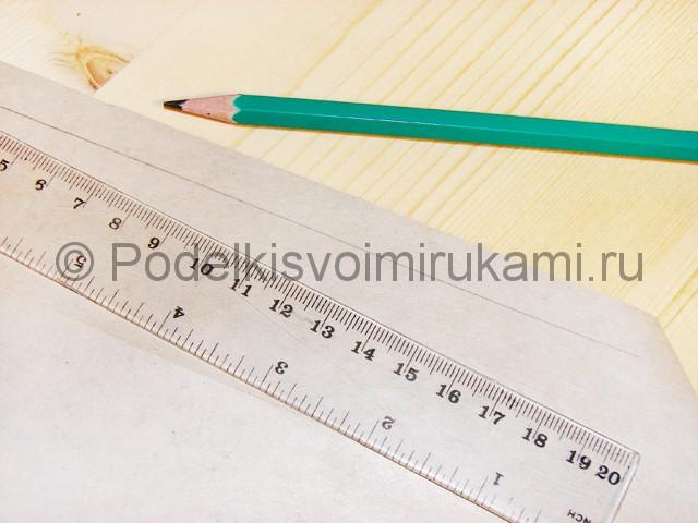 Изготовление ножа из бумаги - фото 9.