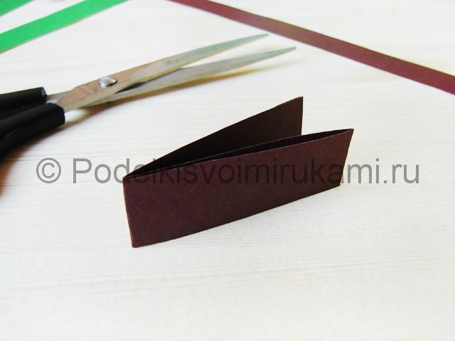 Изготовление пальмы из бумаги - фото 14.