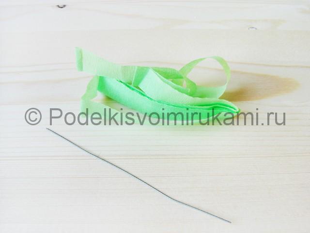 Изготовление пальмы из бумаги - фото 2.
