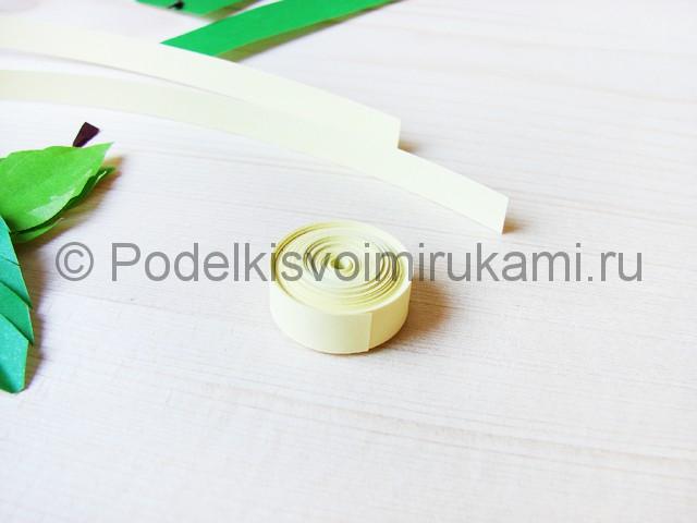 Изготовление пальмы из бумаги - фото 20.