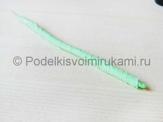 Изготовление пальмы из бумаги - фото 5.