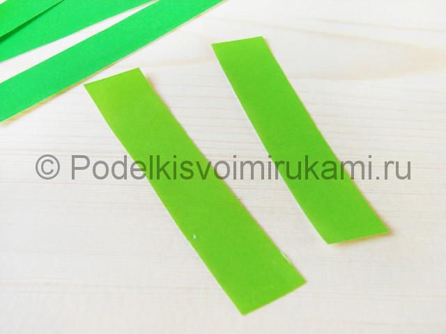 Изготовление пальмы из бумаги - фото 7.