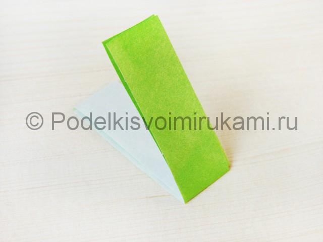 Изготовление пальмы из бумаги - фото 8.