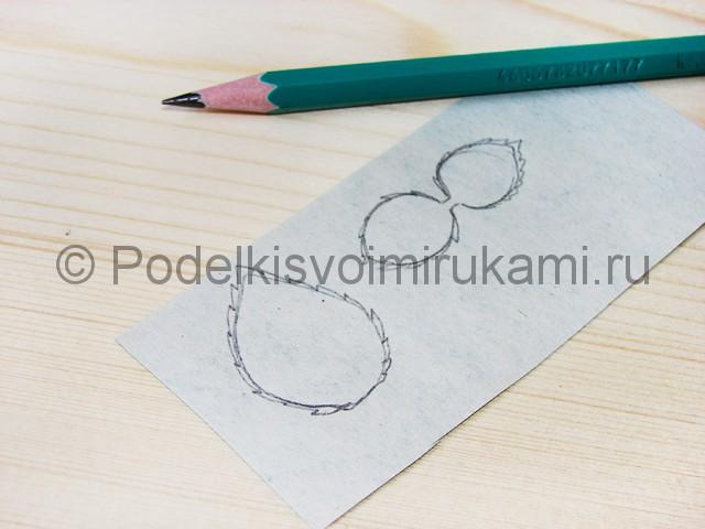 Изготовление розы из гофрированной бумаги - фото 28.