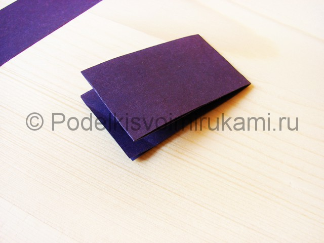 Изготовление сирени из бумаги - фото 3.