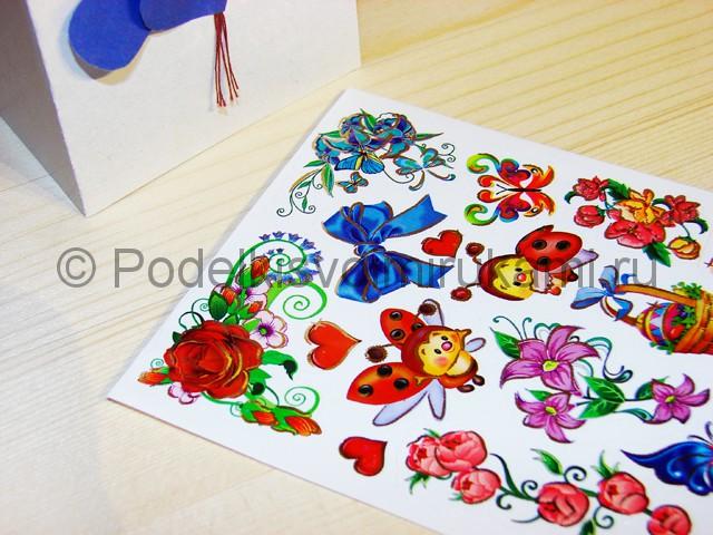 Изготовление валентинки из бумаги - фото 13.
