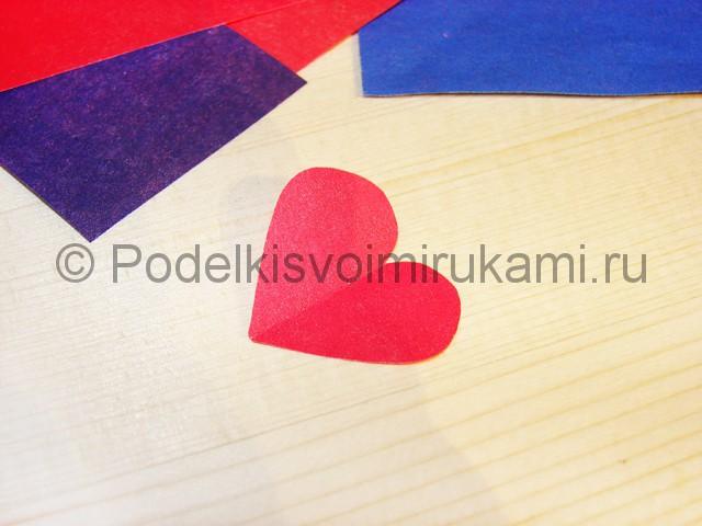 Изготовление валентинки из бумаги - фото 5.