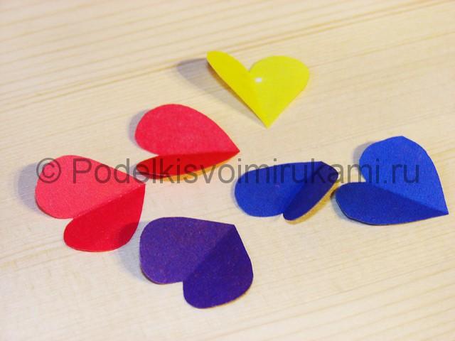 Изготовление валентинки из бумаги - фото 6.