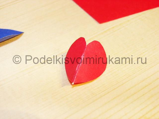 Изготовление валентинки из бумаги - фото 7.