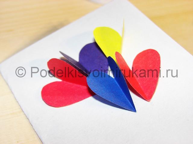 Изготовление валентинки из бумаги - фото 8.