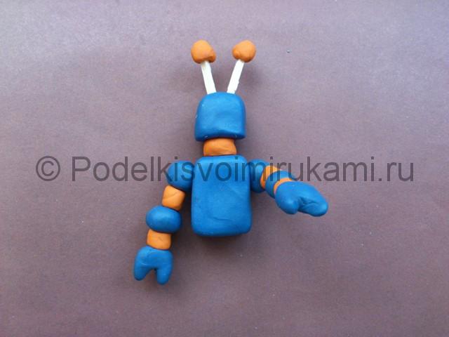Картинки как сделать робота из пластилина, картинки для