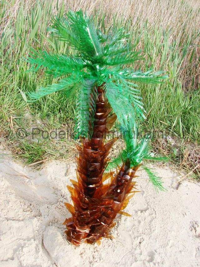 Пальма из ткани своими руками