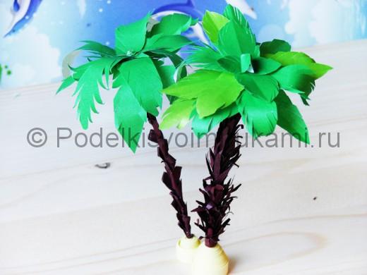 Как сделать пальму из полторашек фото 946